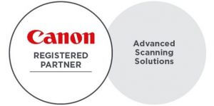 Canon Advanced Scanning Solutions Registered Partner Award