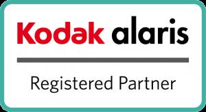 Official Kodak Alaris Registered Partner Logo